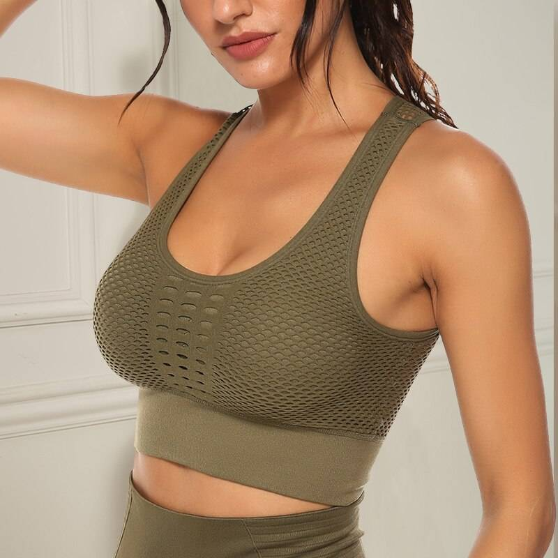 Sports Workout Bra for Women Womens Clothing Tops & T-shirts