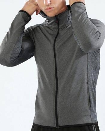Long Sleeve Running Jacket for Men Mens Clothing Jackets & Hoodies