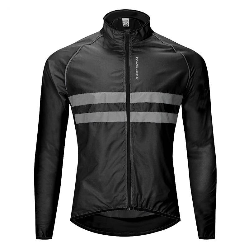 WOSAWE Cycling Jacket High Visibility MultiFunction Jersey Road MTB Bike Bicycle Windproof Quick Dry Rain Coat Windbreaker Mens Clothing Jackets & Hoodies| The Athleisure